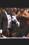 2013 Ghana Movie Awards Joselyn Dumas Tears of Joy